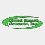 Lowell Russell Concrete logo